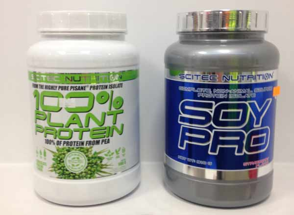 100% plant protein - SOY PRO